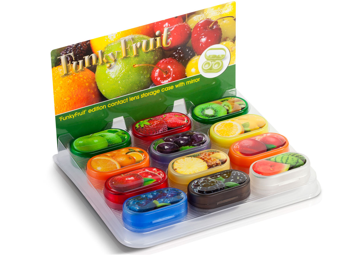 Funky Fruit Lens Cases