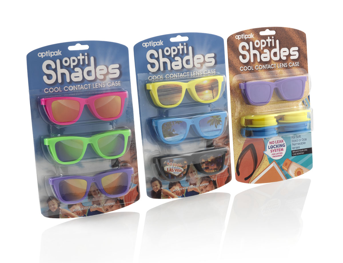 NEW OptiShades FlipTop Cases