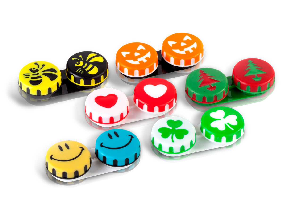 Seasonal Fun Contact Lens Cases